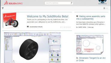 Uusi SolidWorks-yhteisön kokoontumispaikka: My.SolidWorks