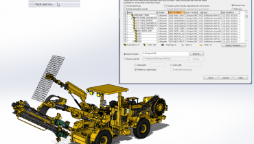 Tips & Tricks: SolidWorksin 'Pack and Go' -toiminto