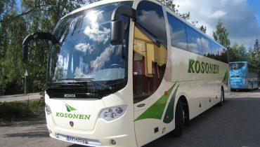 Uusien linja-autojen suunnittelu siirtyi ohituskaistalle HostPLM:n avulla
