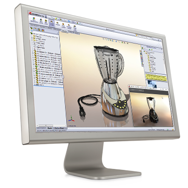 SolidWorks Visualisointi