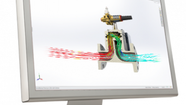 SolidWorks Simulation Virtauslaskenta