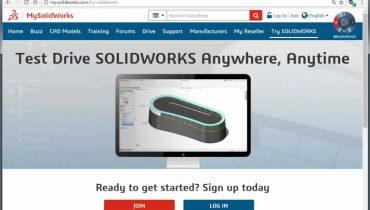 Testaa SOLIDWORKS-ohjelmistoa ilmaisen online-kokeiluversion avulla