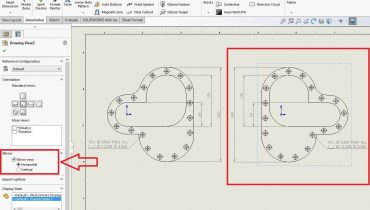 Tips&Tricks: SOLIDWORKS 2017 Mirror Drawing -toiminto