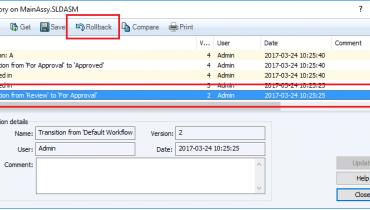 Tips&Tricks: Rollback-toiminnon käyttäminen tiedostorakenteeseen