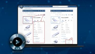 3DEXPERIENCE: Kuinka tarkastelet tiedoston historiaa 3DDrivessa