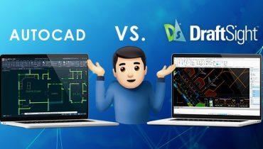 DraftSight ja AutoCAD - mitä eroja niillä on?
