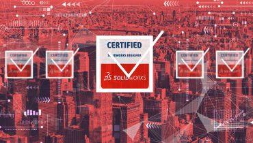SOLIDWORKSin sertifiointiohjelma rikkoo ennätyksiä